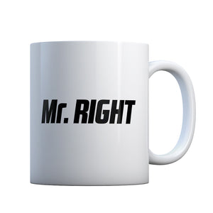 Mr. Right Gift Mug