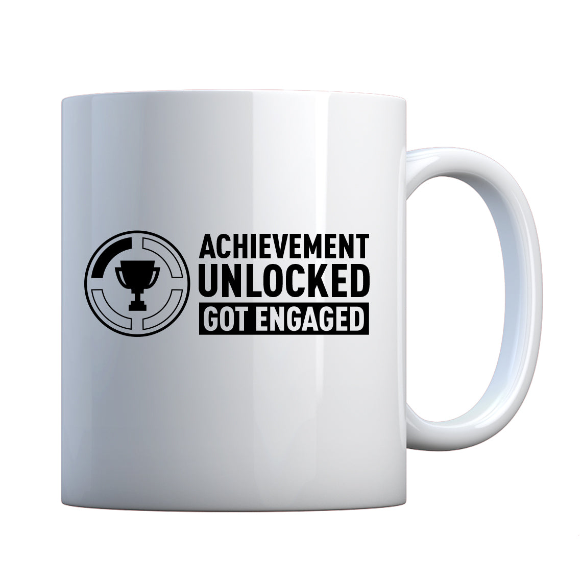 Achievement Unlocked Got Engaged Ceramic Gift Mug