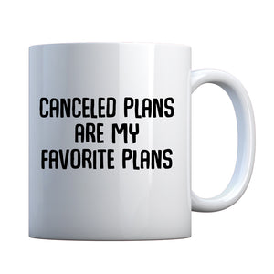 Mug Canceled Plans Ceramic Gift Mug