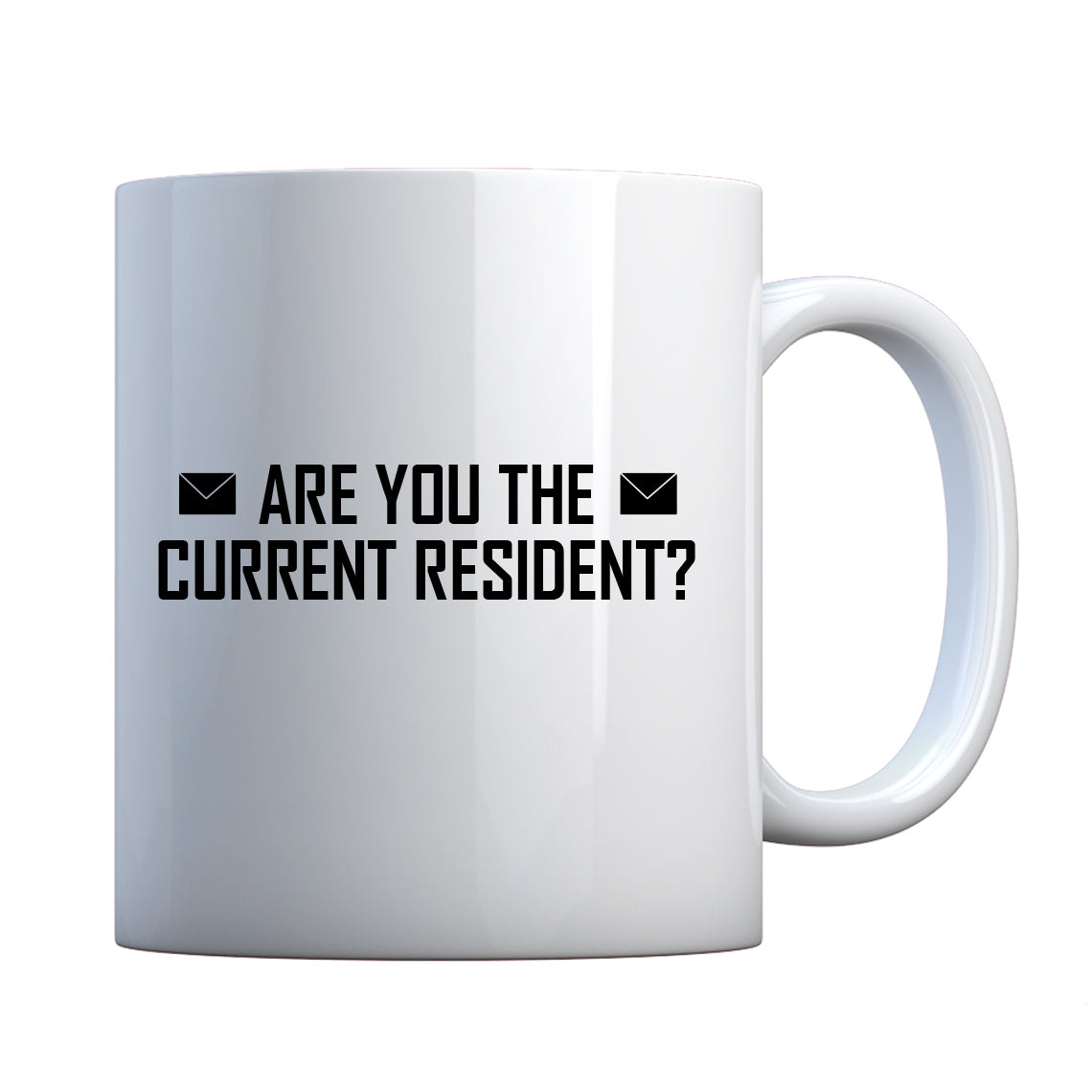 Mug Are you the Current Resident? Ceramic Gift Mug
