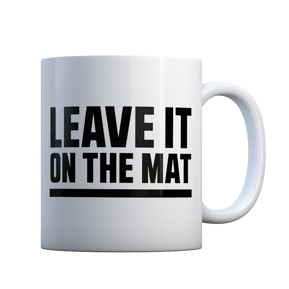 Leave it on the Mat Gift Mug
