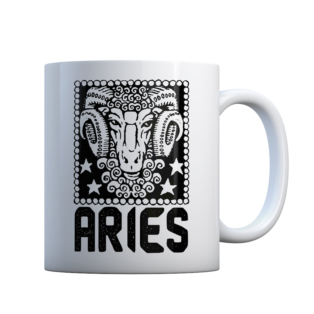 Aries Zodiac Astrology Gift Mug