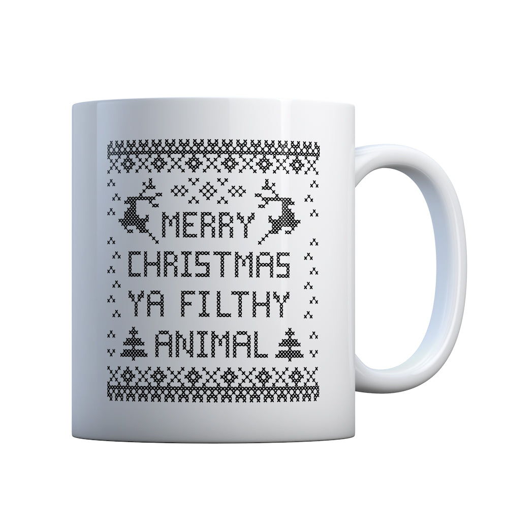 Merry Christmas Ya Filthy Animal Gift Mug
