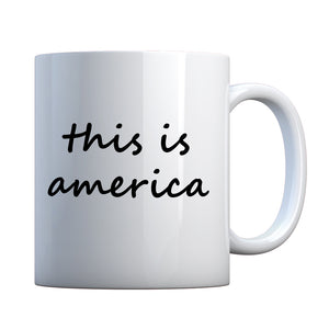 Mug This is America Ceramic Gift Mug