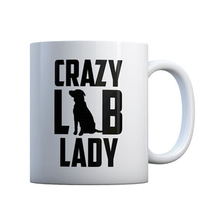 Crazy Lab Lady Gift Mug