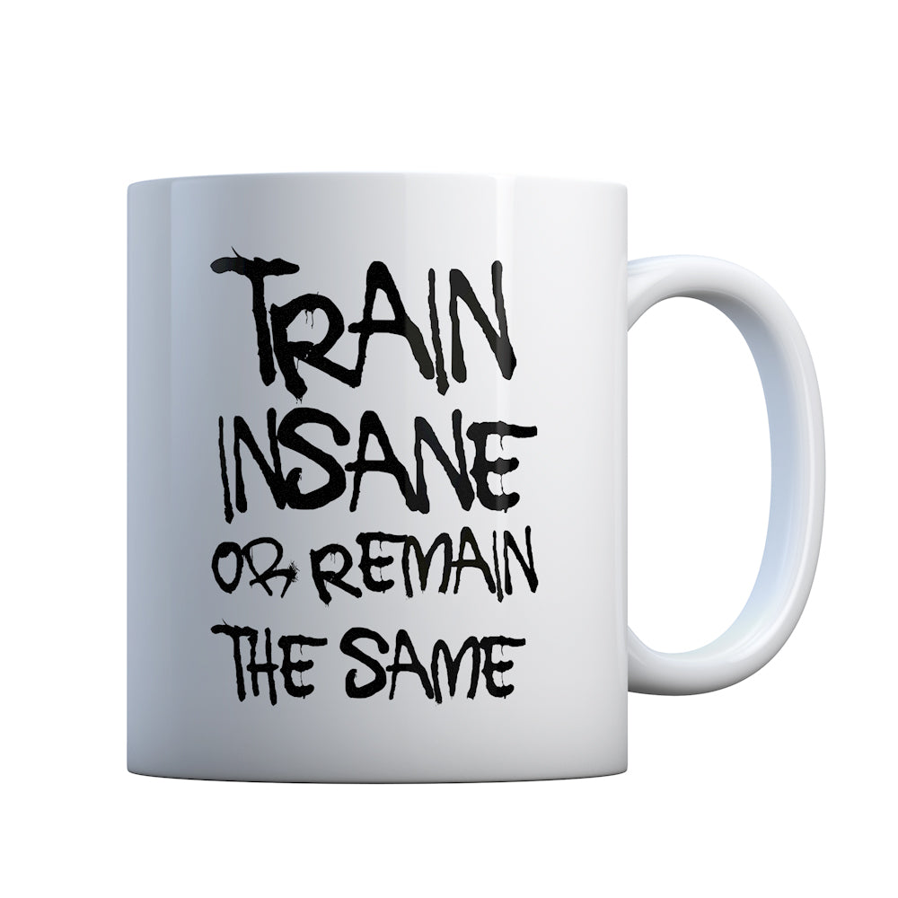 Train Insane or Remain the Same Gift Mug