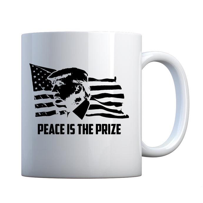 Mug Peace is the Prize Ceramic Gift Mug