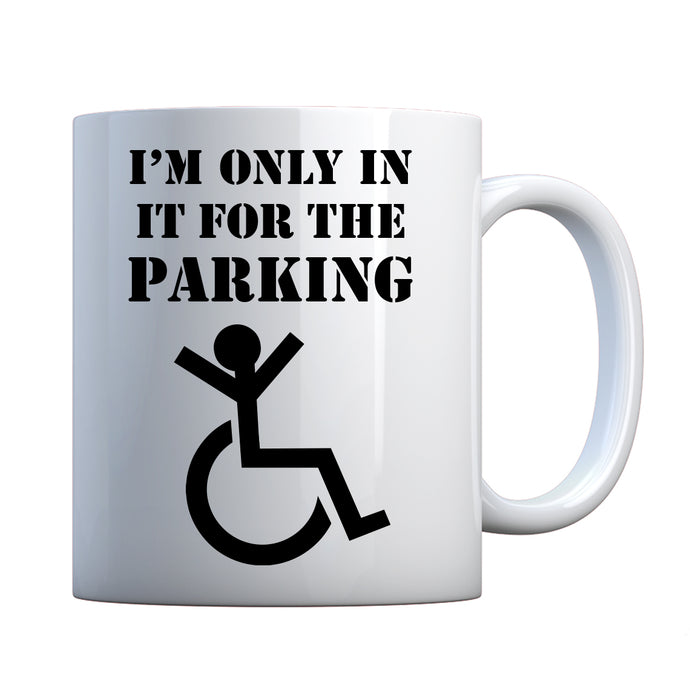 Mug Disabled Parking Ceramic Gift Mug