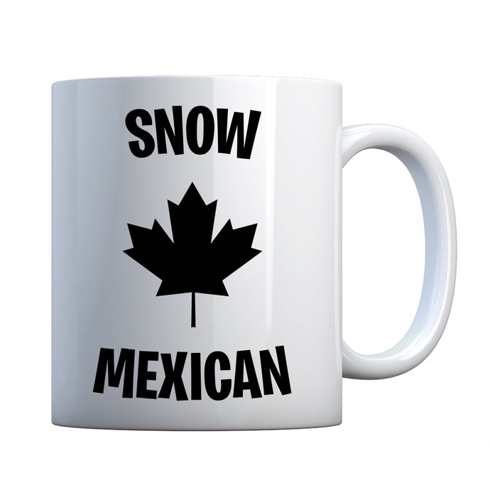 Snow Mexican Ceramic Gift Mug