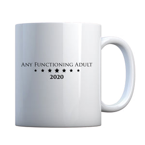 Mug Any Functioning Adult Ceramic Gift Mug