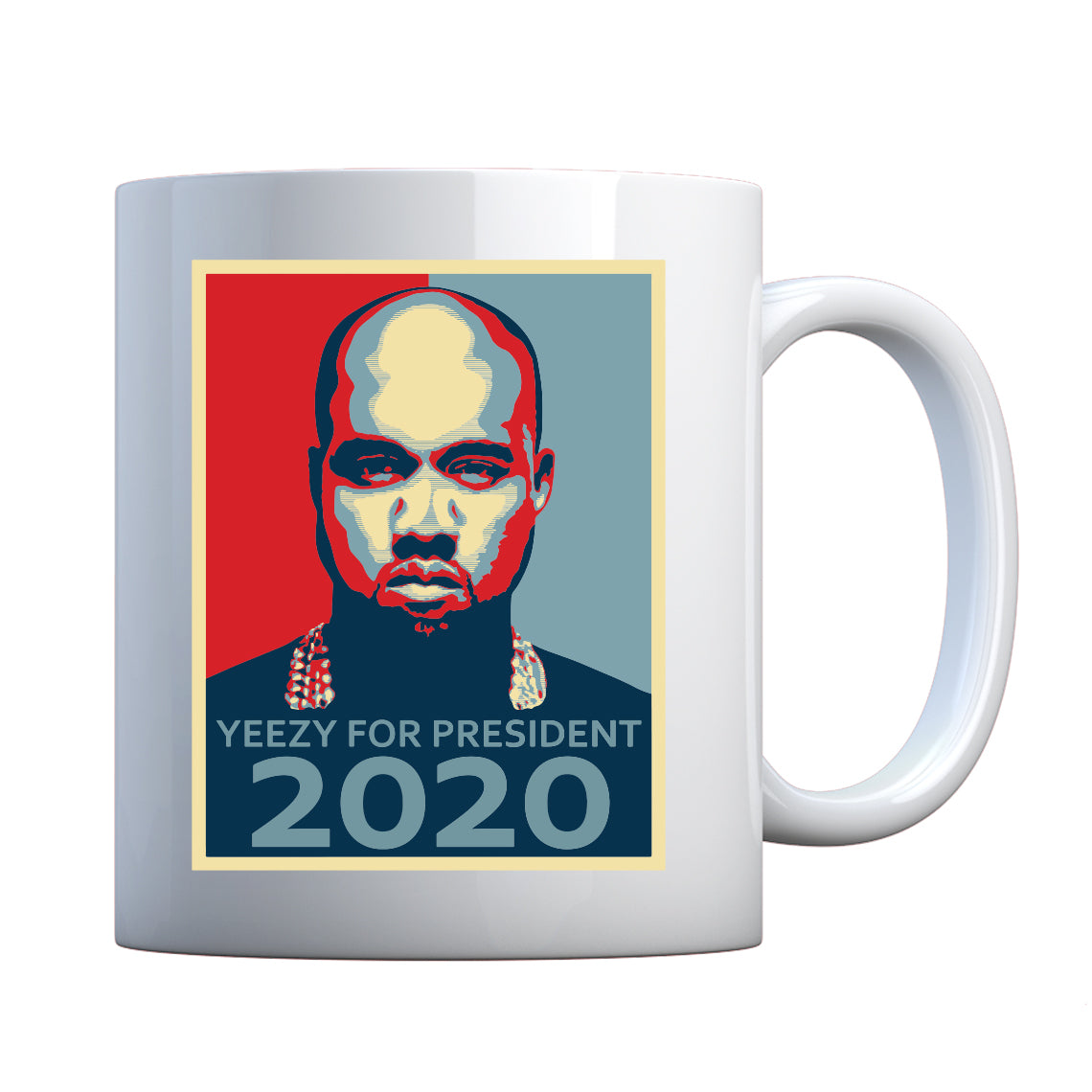Mug Yeezy for President 2020 Ceramic Gift Mug