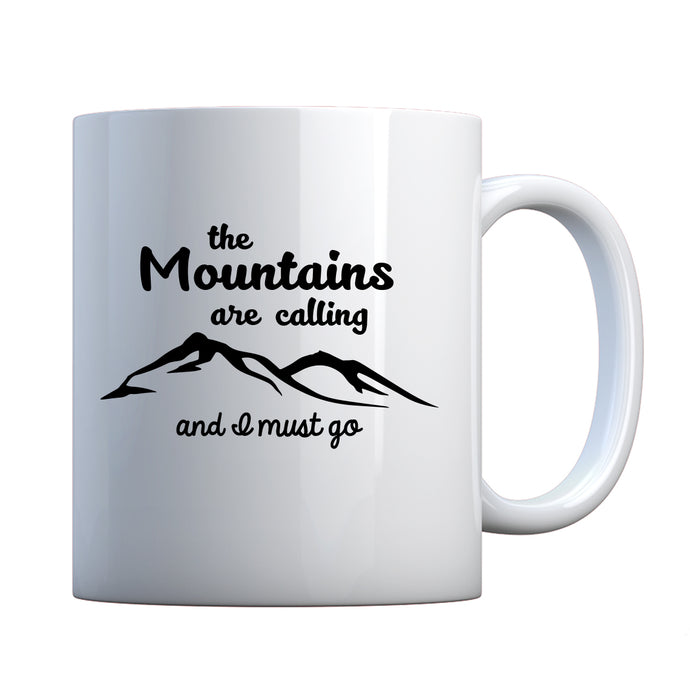 The Mountains are Calling Ceramic Gift Mug