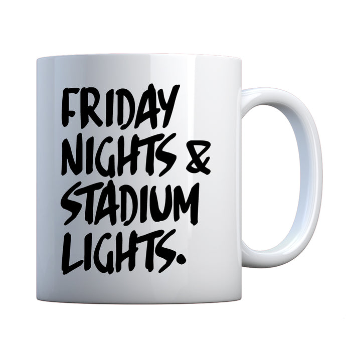 Mug Friday Nights Stadium Lights Ceramic Gift Mug