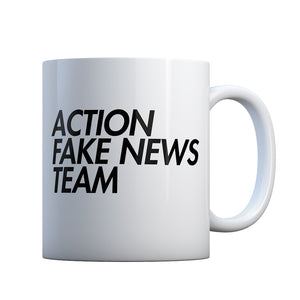 Action Fake News Team Gift Mug