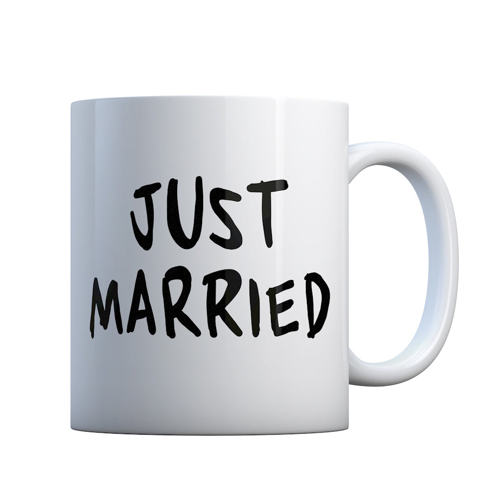 Just Married Gift Mug
