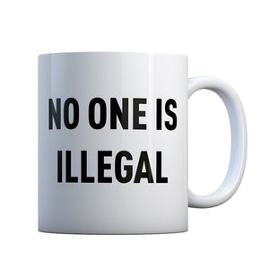 No One is Illegal Gift Mug