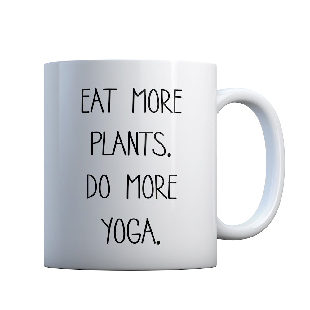 More Plants More Yoga Gift Mug