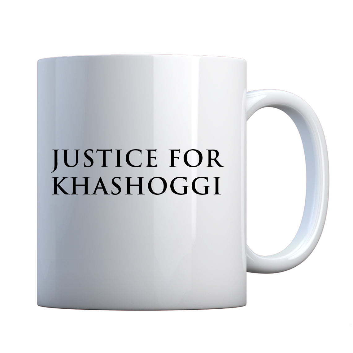 Justice for Khashoggi Ceramic Gift Mug
