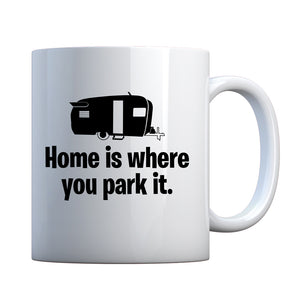 Home is Where you Park it Ceramic Gift Mug