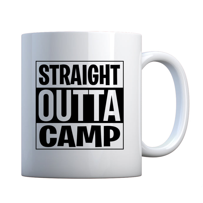 Straight Outta Camp Ceramic Gift Mug