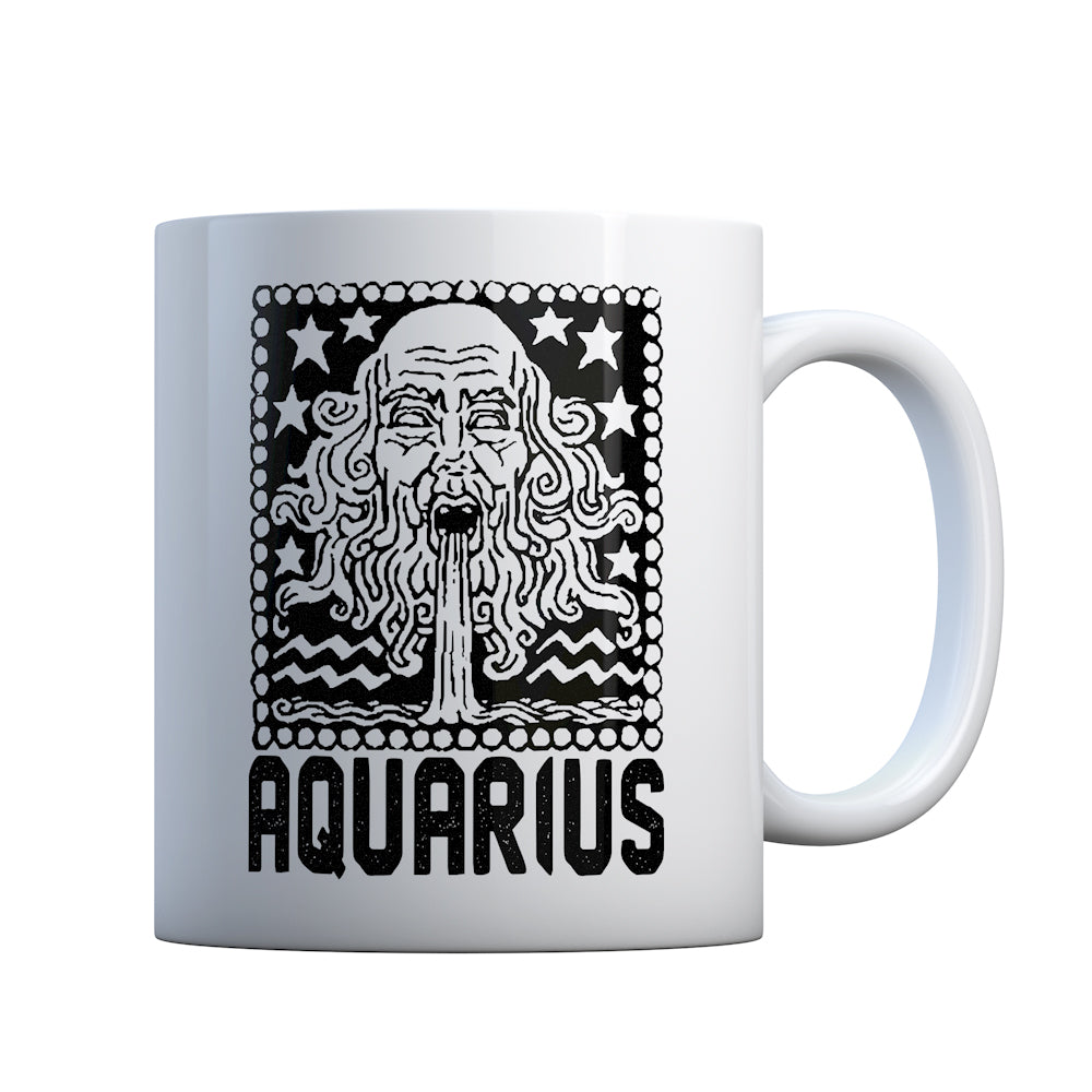 Aquarius Zodiac Astrology Gift Mug