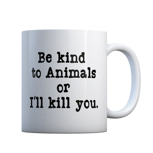 Be Kind to Animals Gift Mug