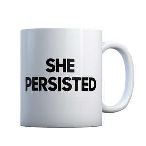 She Persisted Gift Mug