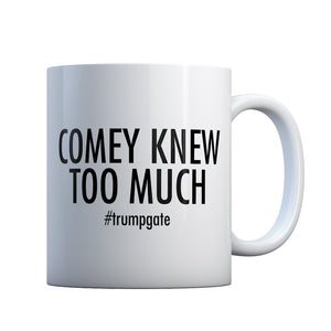 Comey Knew Too Much Gift Mug