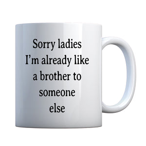 Mug Sorry ladies Ceramic Gift Mug