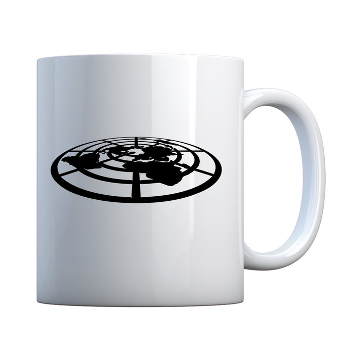 Mug Flat Earth Society Ceramic Gift Mug