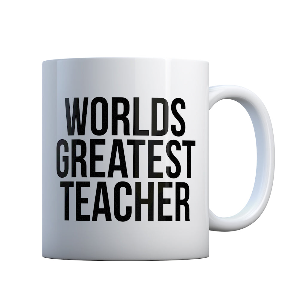 Worlds Greatest Teacher Gift Mug