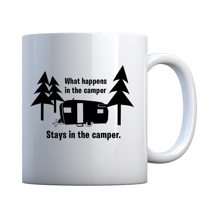 What Happens in the Camper Ceramic Gift Mug