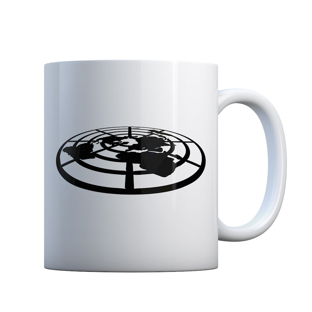 Flat Earth Society Gift Mug