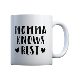 Momma Knows Best Gift Mug