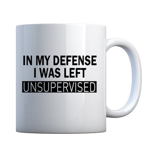 Mug In My Defense Ceramic Gift Mug