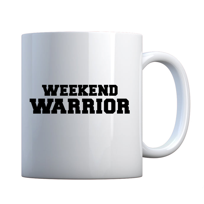 Weekend Warrior Ceramic Gift Mug