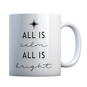 All is Calm All is Bright Ceramic Gift Mug