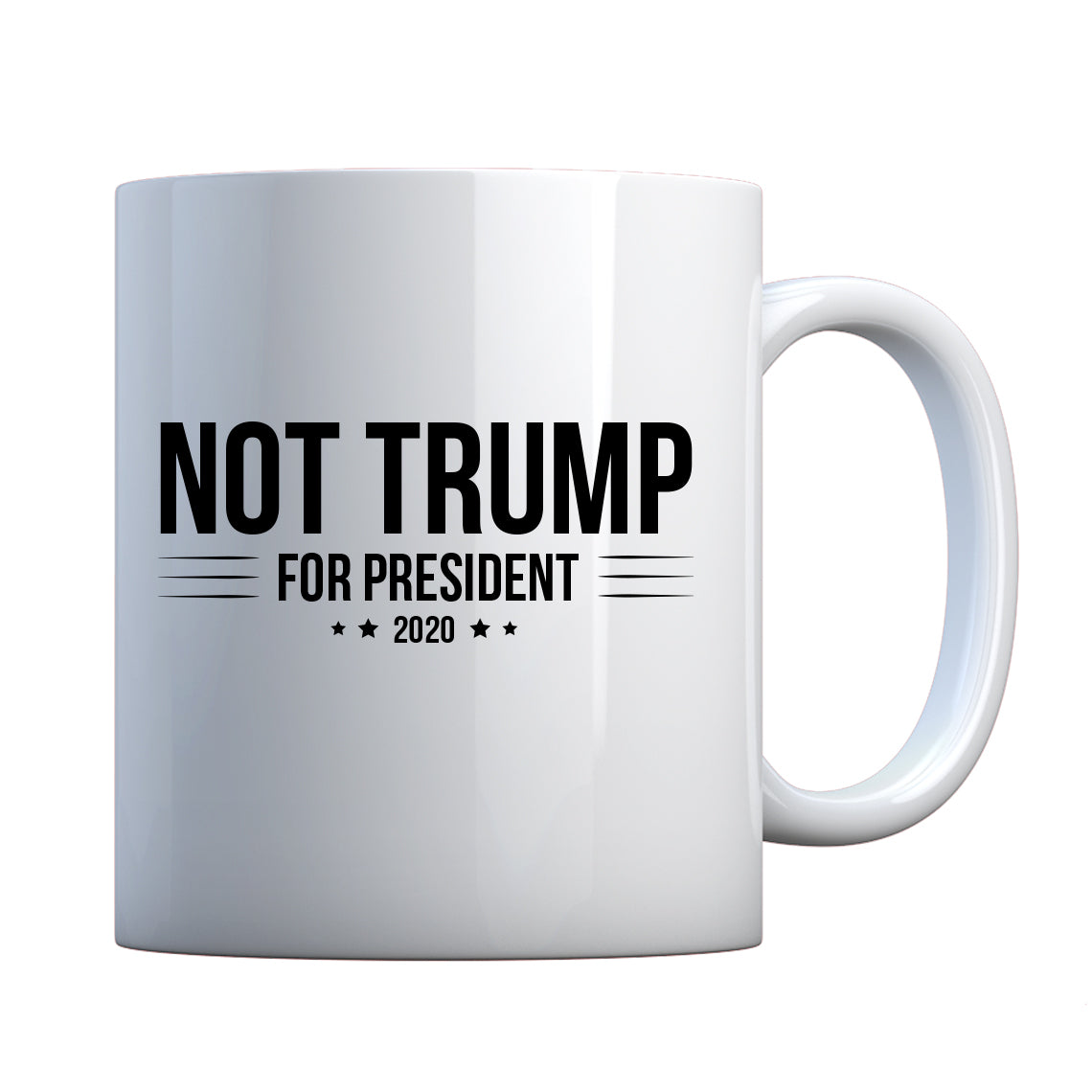 NOT TRUMP for President 2020 Ceramic Gift Mug