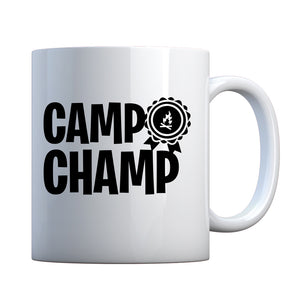 Camp Champ Ceramic Gift Mug