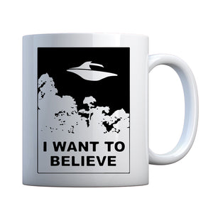 I Want to Believe Ceramic Gift Mug