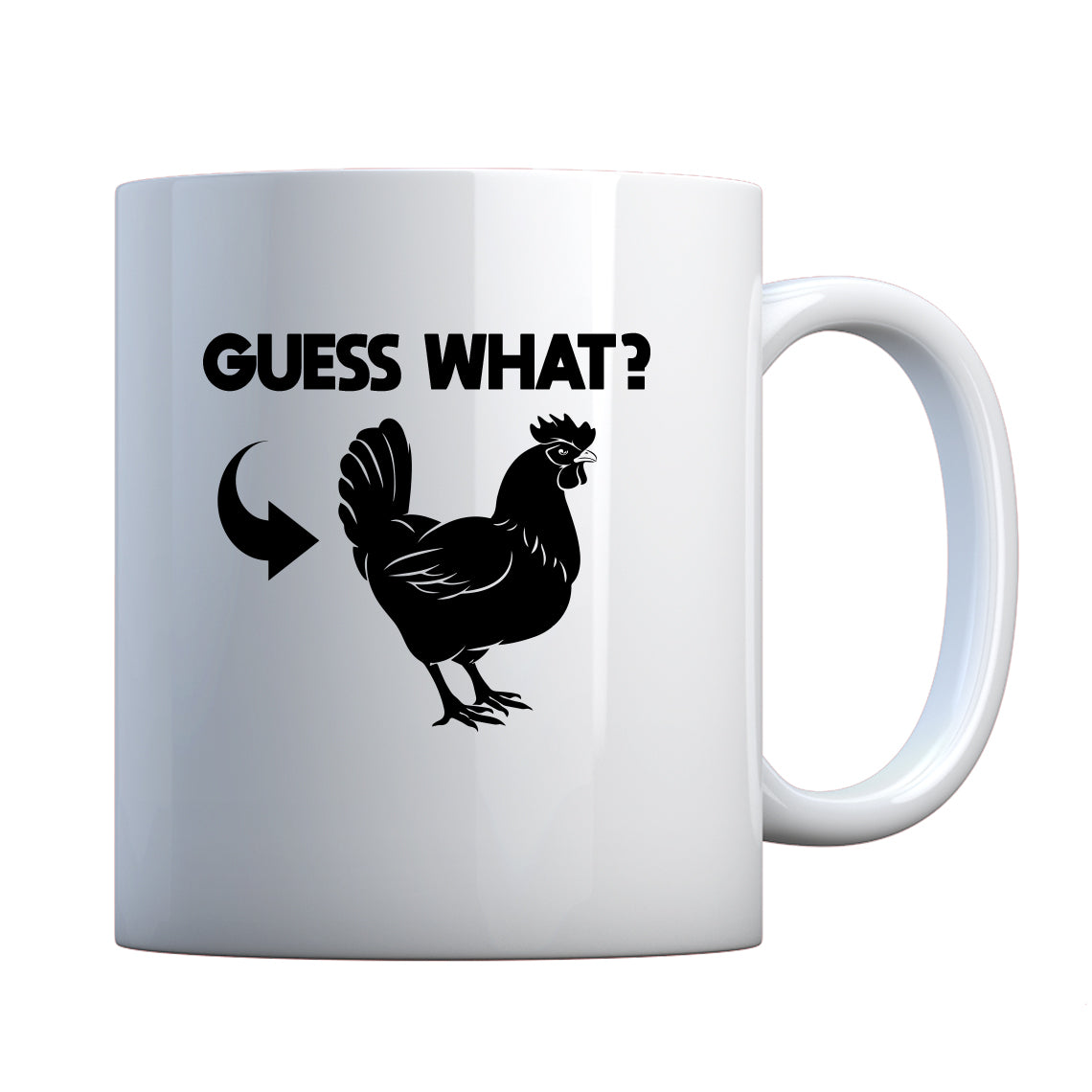 Mug Chicken Butt Ceramic Gift Mug