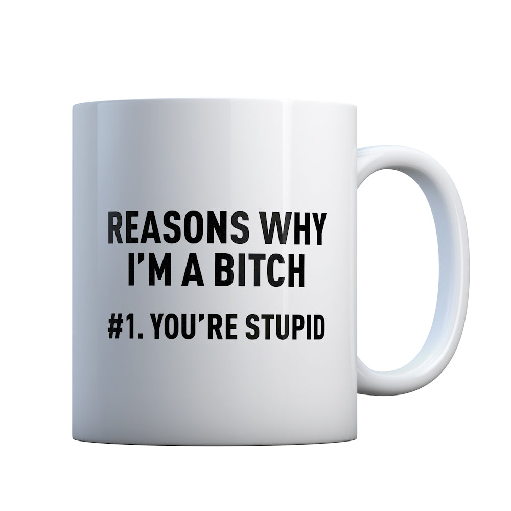 Reasons Why You're Stupid Gift Mug