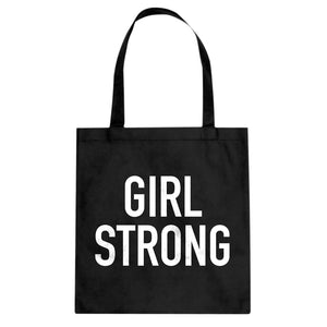 Tote Girl Strong Canvas Tote Bag