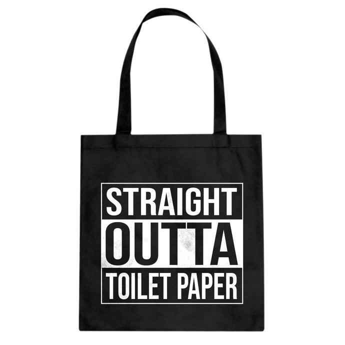 Straight Outta Toilet Paper Cotton Canvas Tote Bag