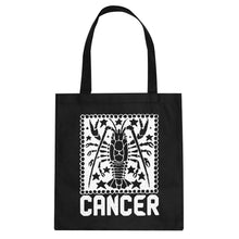 Tote Cancer Zodiac Astrology Canvas Tote Bag