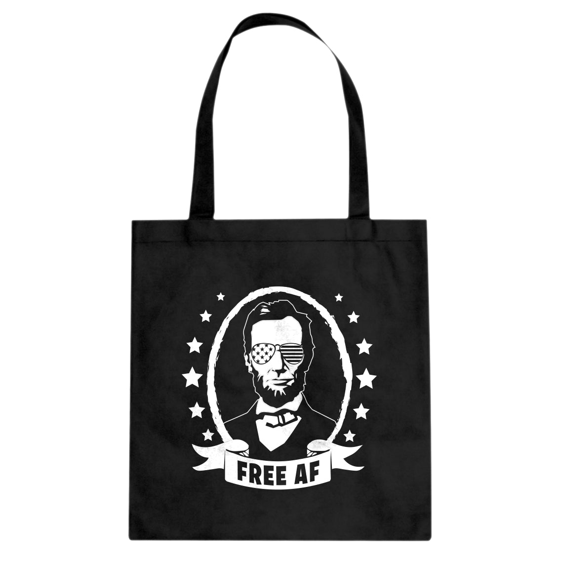 Free AF Cotton Canvas Tote Bag