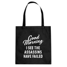 Tote Good Morning Canvas Tote Bag
