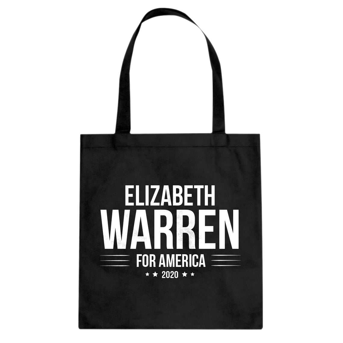 ELIZABETH WARREN for President 2020 Cotton Canvas Tote Bag