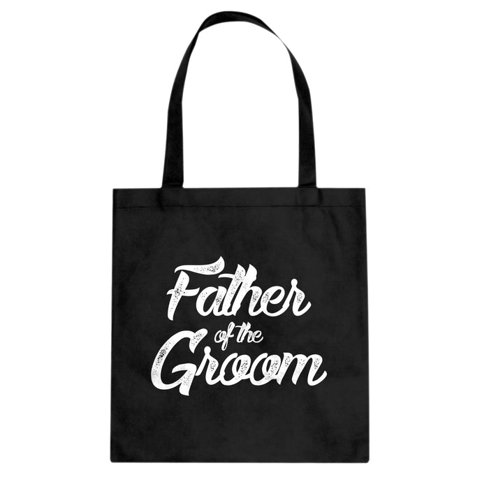 Father of the Groom Cotton Canvas Tote Bag