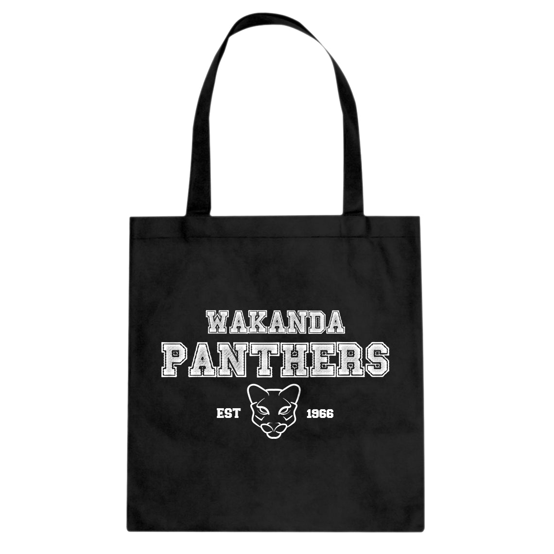 Tote Wakanda Panthers 1966 Canvas Tote Bag